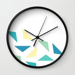triangle corner Wall Clock