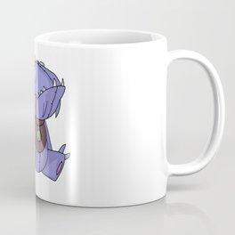 Cute Plush Dino Coffee Mug