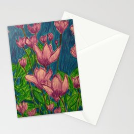 Lavender Flowers Stationery Cards