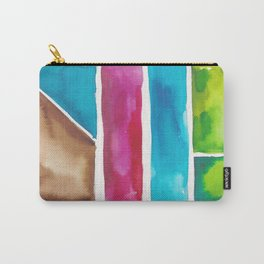 180811 Watercolor Block Swatches 6| Colorful Abstract |Geometrical Art Carry-All Pouch