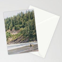West Coast Surfer Stationery Cards