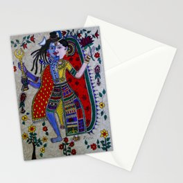 lord shiva and parvati Stationery Cards