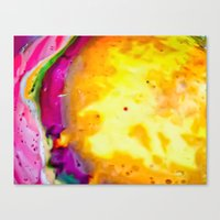 psych Canvas Prints featuring Psych Juice by Elizabeth Seward