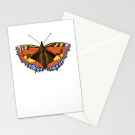 Small Tortoiseshell Butterfly Stationery Cards