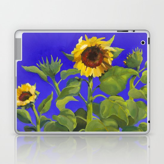Sunflowers Laptop & iPad Skin