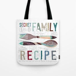 Secret Family Recipe Tote Bag
