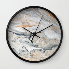 Faux Marble Wall Clock