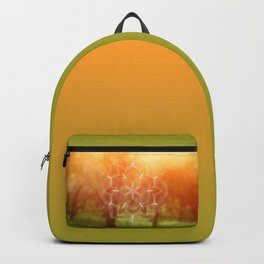 Valinor (Undying Lands)   Sacred geometry art Backpack