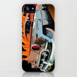 Caddy Rat Rod iPhone Case