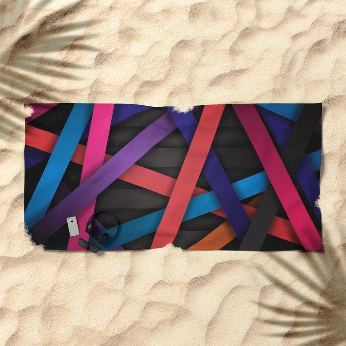 Web Beach Towel