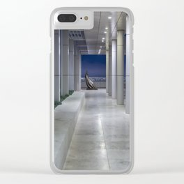 Cardinale Seduto at the Getty Clear iPhone Case