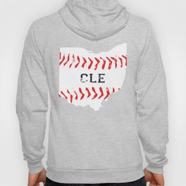 Distressed Cleveland Baseball Shirt Cleveland Ohio Hoody