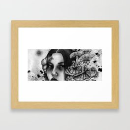 Mycelia Framed Art Print