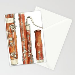 Bassoon Stationery Cards