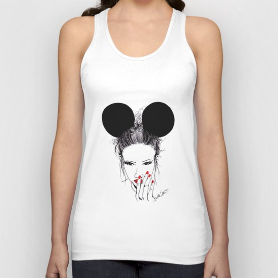 Minnie Mouse Unisex Tank Top