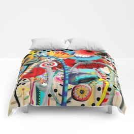 Colorful Happy Days  Comforters