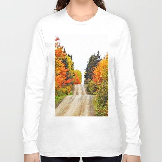Nature's Secret Highway Long Sleeve T-shirt