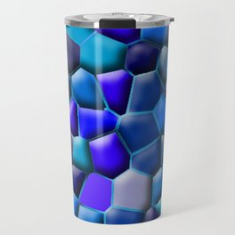 Blue Pebbles Travel Mug