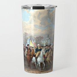 General Washington Enters New York Travel Mug