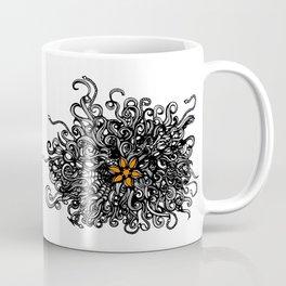 Burst of Swirls Doodle Coffee Mug