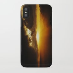 Canyon Sunset iPhone X Slim Case