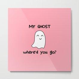 my ghost Metal Print