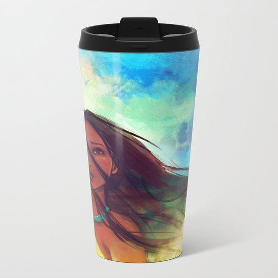 The Wind... Metal Travel Mug