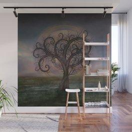 Golden Spiral Tree #3 Wall Mural