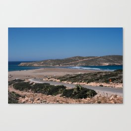 Prasonisi Canvas Print