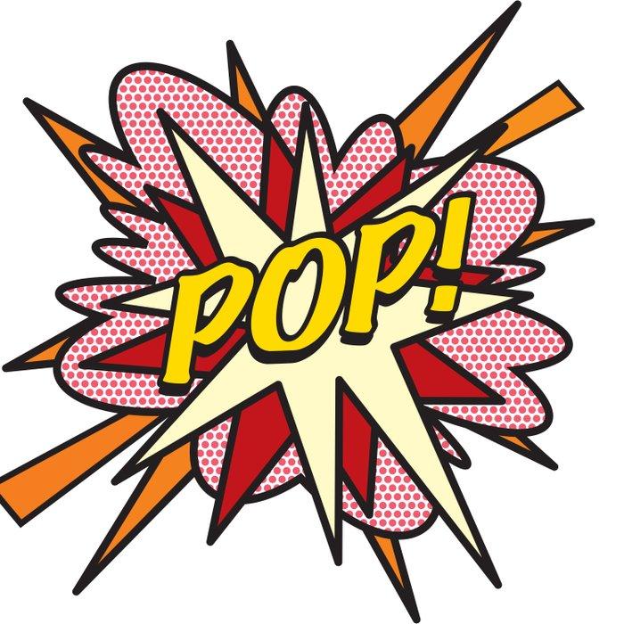Comic Book Pop Art POP! Duvet Cover
