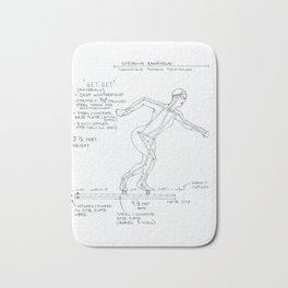 Get Set Drawing, Transitions through Triathlon Bath Mat