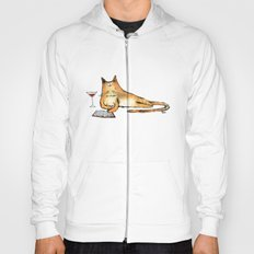 The Cat Relaxes Hoody