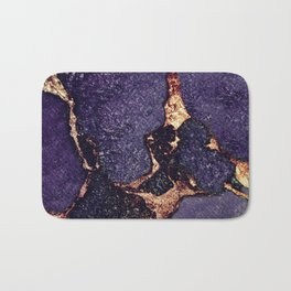 GEMSTONE & GOLD PURPLE ULTRA VIOLET Bath Mat