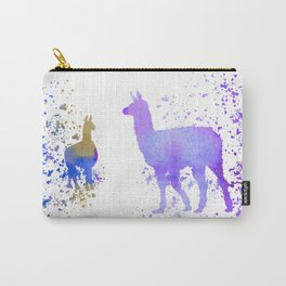 Llamas Carry-All Pouch