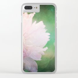 Peony Dreams... Clear iPhone Case