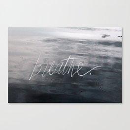 breathe ~ fine art nature photo manipulation Canvas Print