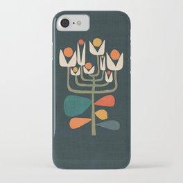 Retro botany iPhone Case