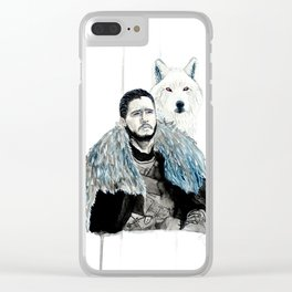 Snow, Jon Clear iPhone Case