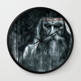 Slavic Magus Wall Clock