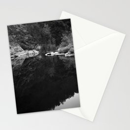 Shoreline Reflection On the Water Stationery Cards