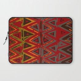 Aztec Fire Ritual Batik Laptop Sleeve