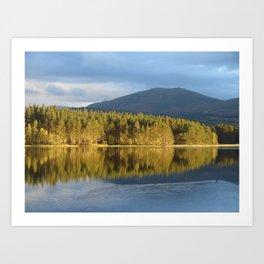 Loch Garten, Cairngorms National Park Art Print