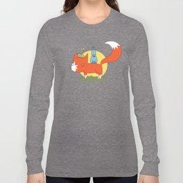 foxy friends. Long Sleeve T-shirt