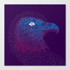Titanium eagle Canvas Print