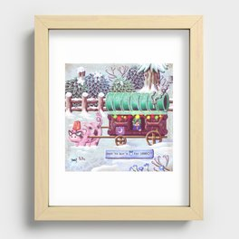 Stardew Valley - Travelling Cart Recessed Framed Print