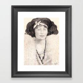 Ona Lee Framed Art Print