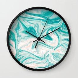 Sea of Marble Wall Clock