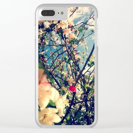 Not a cherry blossom Clear iPhone Case