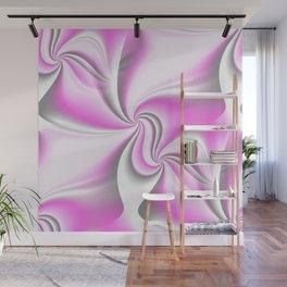 Turn Around (pink) Wall Mural