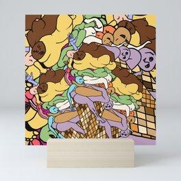 Human Ice Cream Mini Art Print